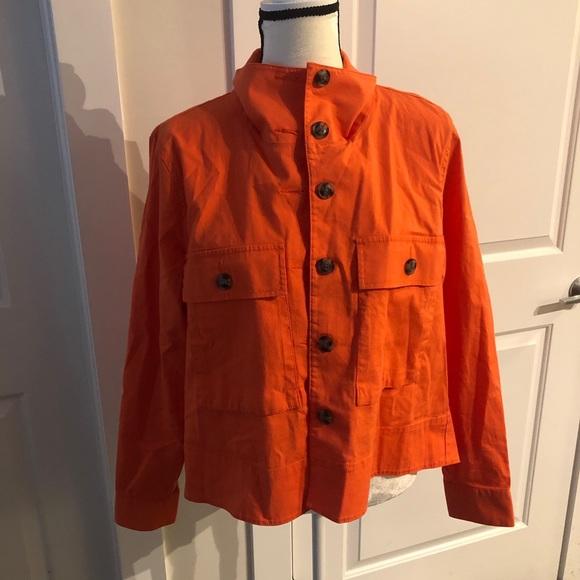 CAbi Jackets & Blazers - Hi-Low CAbi Orange Jacket